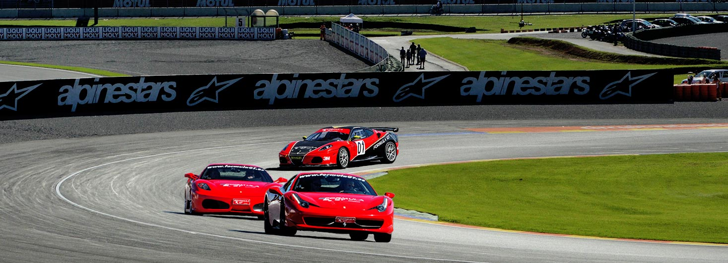 Conducir un Ferrari F430 F1, un Ferrari 458 Italia y un Ferrari F430 F1 GTS de competicion en Ricardo Tormo