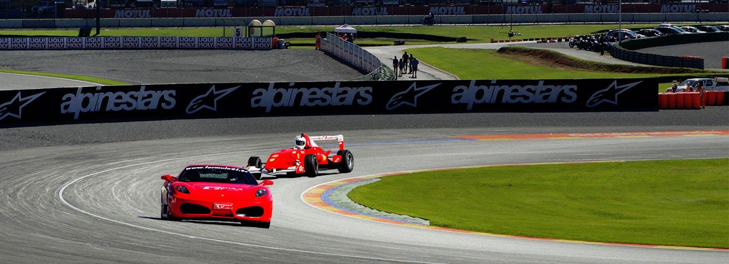 Conducir un Ferrari F430 F1 y un Fórmula en Ricardo Tormo