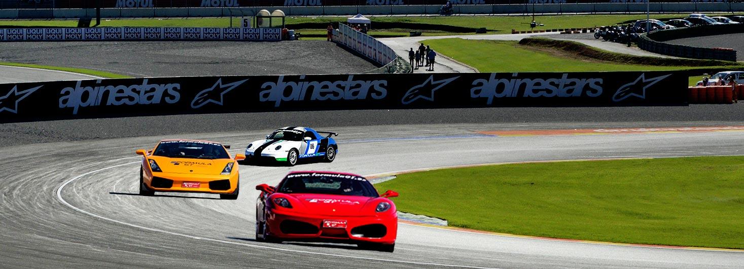 Conducir un Ferrar F430, un Lamborghini Gallardo y un Porsche Boxster en Ricardo Tormo