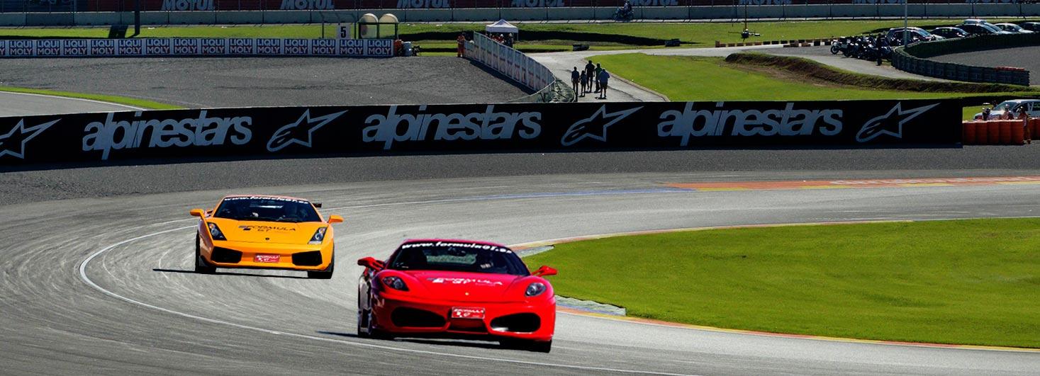 Conducir un Ferrari F430 F1 y un Lamborghini Gallardo en Ricardo Tormo
