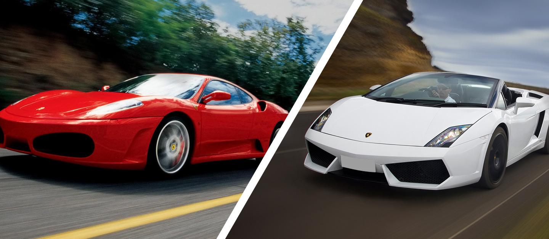 Pack Ruta Ferrari F430 y Lamborghini Gallardo en Cheste